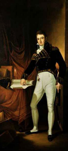 Captain Charles Stewart by Thomas Sully