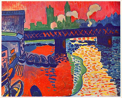 Charing Cross Bridge by André Derain