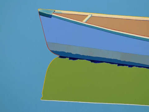 Colorful Canoe by TIMOTHY MULLIGAN
