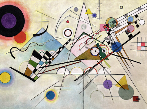 Composition 8 (VIII) by Wassily Kandinsky