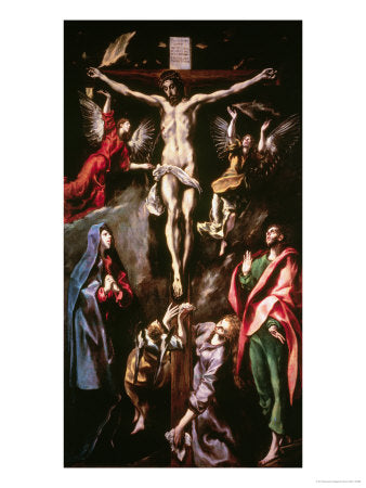 Crucifixion by El Greco