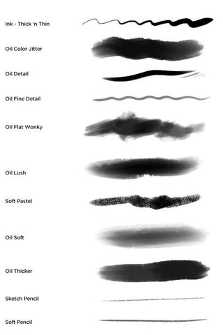 Digital Art Brushes