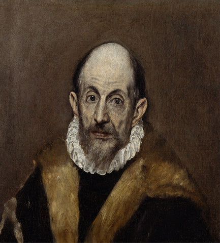 El Greco Self-portrait