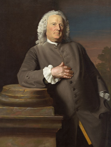 Epes Sargent by John Singleton Copley