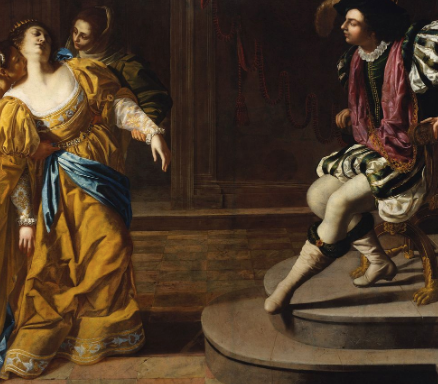 Esther and Ahasuerus by Artemisia Gentileschi
