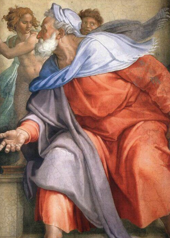 The Delphic Sibyl by Michelangelo