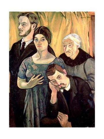 Family Portrait Painting By Suzanne Valadon