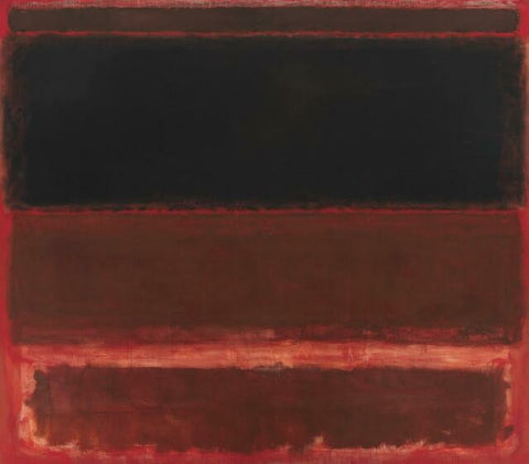 Four Darks in Red by Mark Rothko