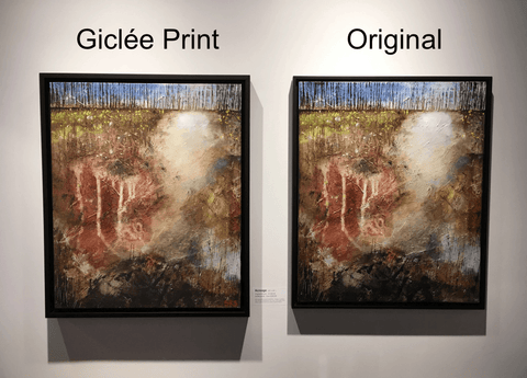 Giclee Print vs Original