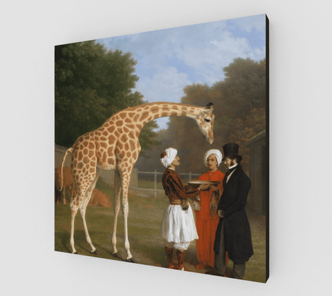 Giraffe Painting Artist: Jacques-Laurent