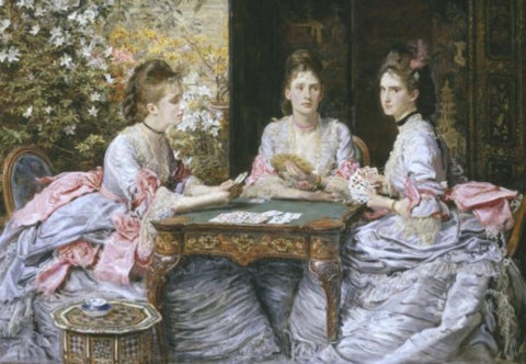 Hearts are Trumps by John Everett Millais