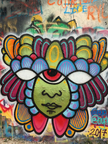 The-Aztec-eye-Mural-Art-Austin-Street-Artist