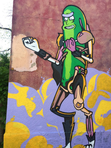 pickle man art