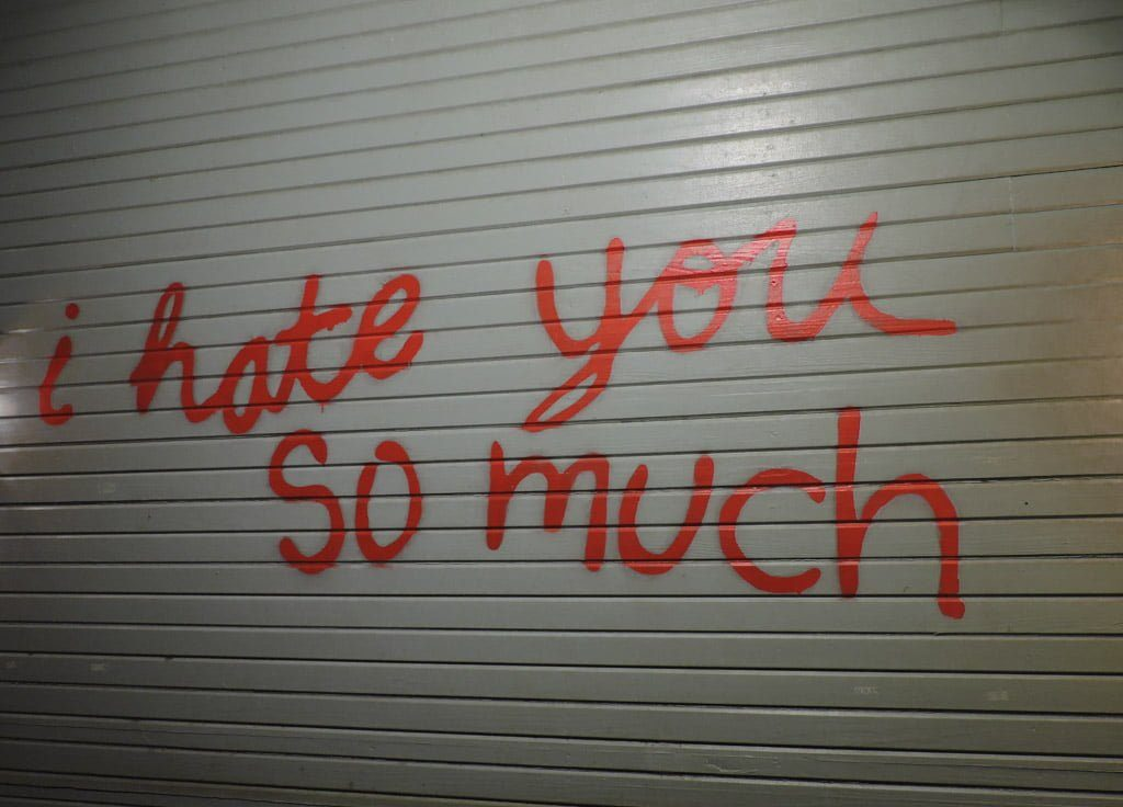 I Hate You So Much Austin Mural
