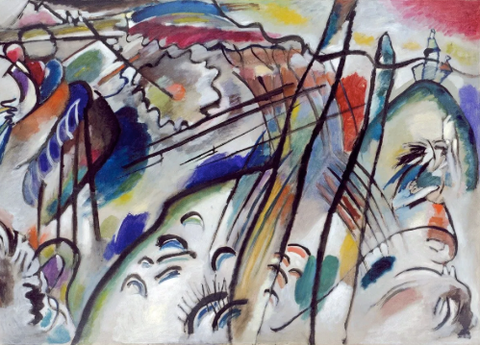 Improvisation 28 by Wassily Kandinsky