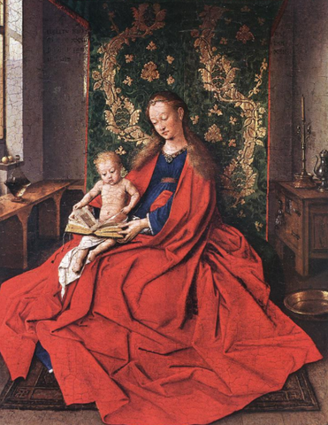 Ince Hall Madonna by Jan van Eyck