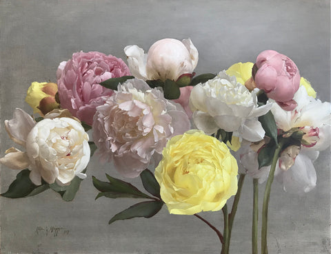 "Katie Whipple ""Peonies For Nona"""