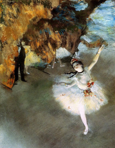 L'Étoile (The Star) by Edgar Degas
