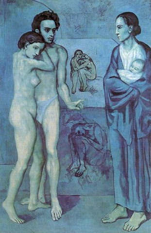 La Vie Painting by Pablo Picasso