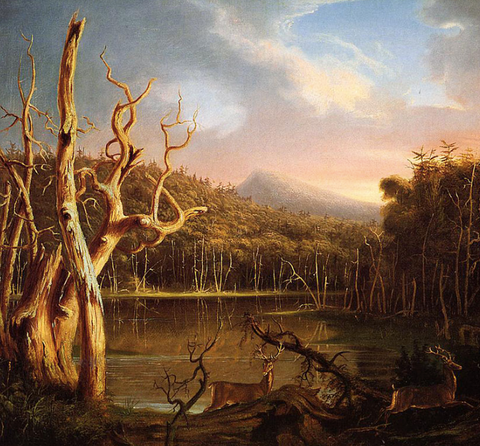 Lake with Dead Trees by Thomas Cole