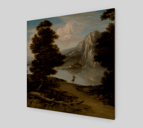 Landscape With A Lake Painting By Allston Washington