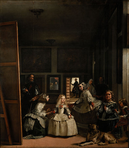 Las Meninas - The Maids of Honour by Diego Velázquez