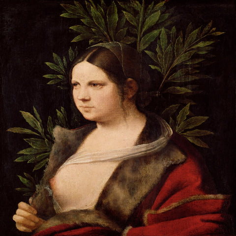 Laura by Giorgione - Famous Painting