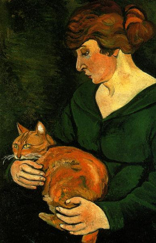 Louison and Raminou by Suzanne Valadon