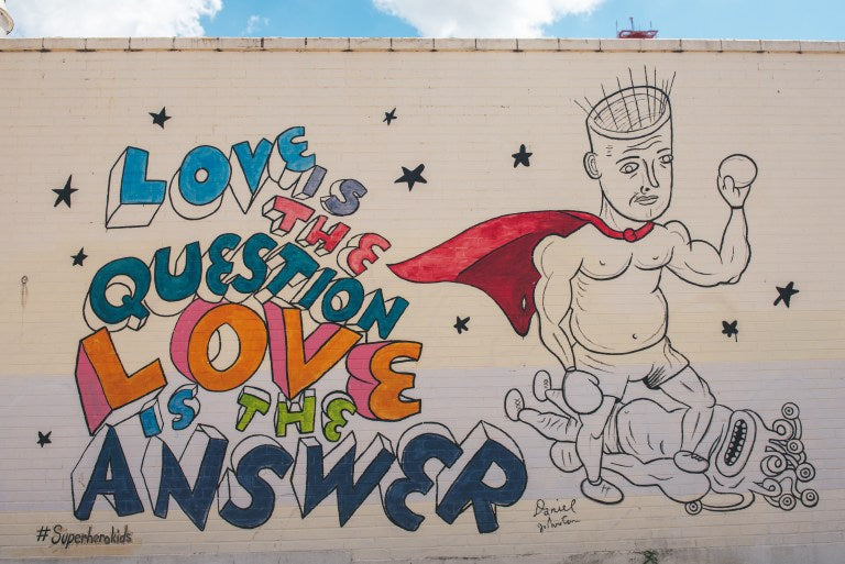 Love Is The Question, Love Is The Answer Mural