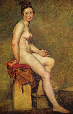 Mademoiselle Rose by Eugène Delacroix