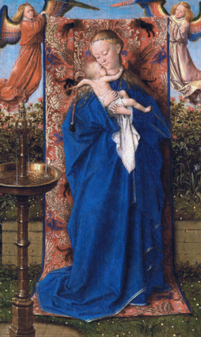 Madonna at the Fountain by Jan van Eyck