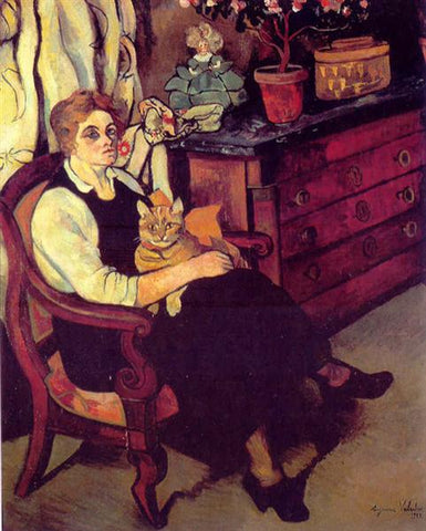 Miss Lily Walton Painting by Suzanne Valadon