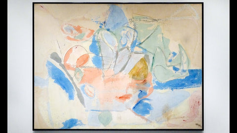 Mountains And Sea by Helen Frankenthaler