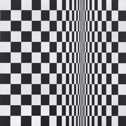 Movement In Squares by Bridget Riley