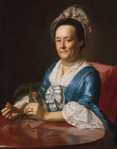 Mrs. John Winthrop by John Singleton Copley