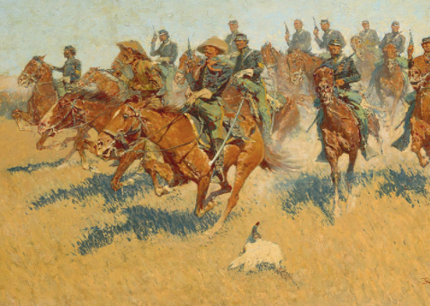 On the Southern Plains by Frederic Remington