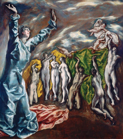 Opening of the Fifth Seal (The Vision of Saint John) by El Greco