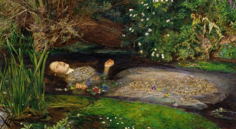 Ophelia by John Everett Millais - Famous Painting