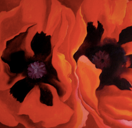 Oriental Poppies by Georgia O'Keeffe