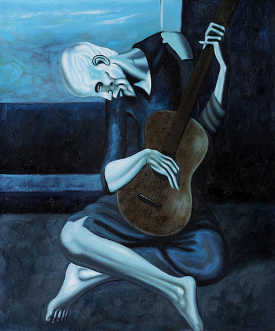Pablo Picasso's Old Guitarist (Painting)