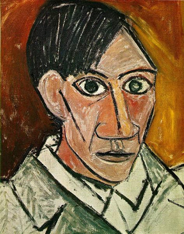 Pablo Picasso self portrait