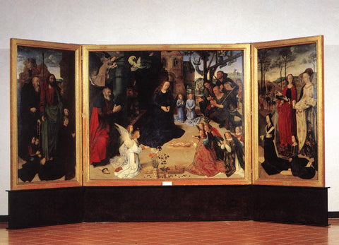 Portinari Altarpiece - Triptych by Hugo van der Goes