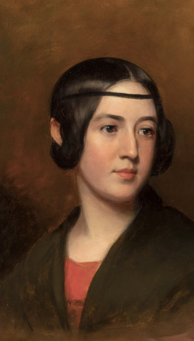 Portrait of Blanch by Thomas Sully