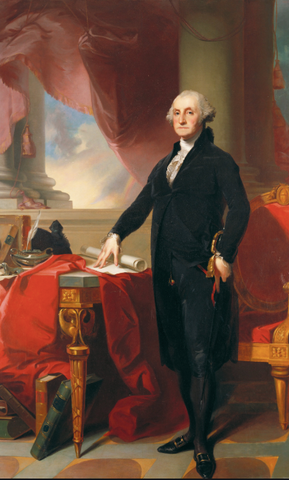 Portrait of George Washington by Thomas Sully