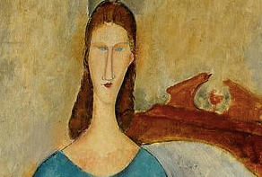 Portrait of Jeanne Hebuterne - Seated by Amedeo Modigliani