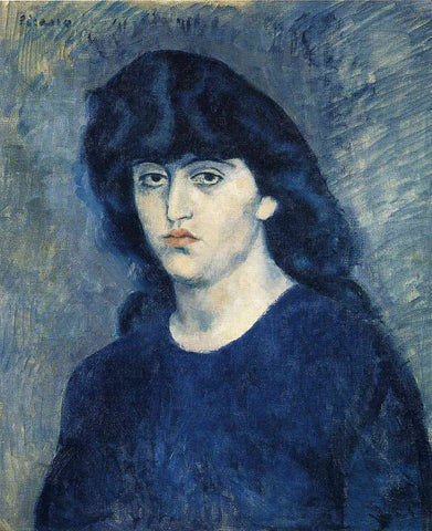 Portrait of Suzanne Bloch Painting by Pablo Picasso