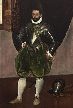 Portrait of Vincenzo Anastagi by El Greco