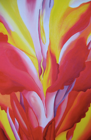 Red Canna by Georgia O'Keeffe