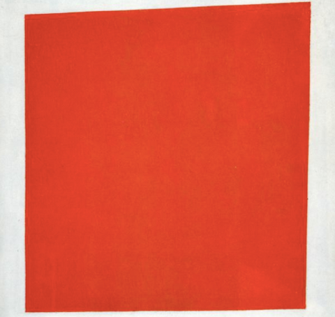 Red Square by Kazimir Malevich