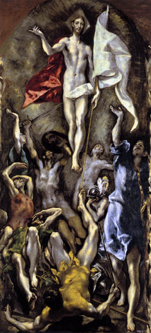 Resurrection by El Greco